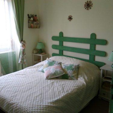 Chambre 4 - lit 140 - ouest