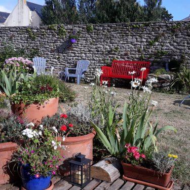 Jardin vu de la terrasse - 1
